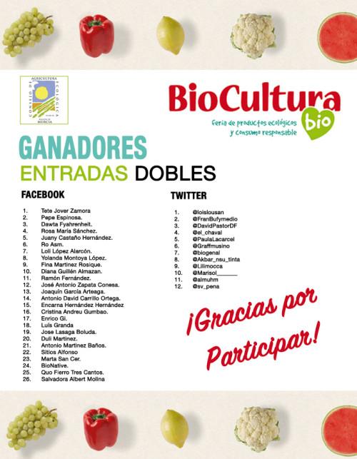 Ganadores Biocultura Madrid