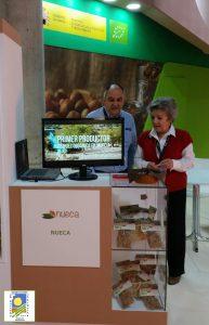 Empresas del Consejo de Agricultura Ecológica en el espacio de exposición del Magrama en Alimentaria 2016