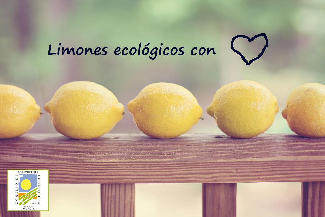 limones ecológicos de Lirbilla, de la Región de Murcia