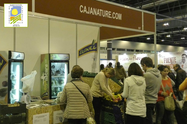 Hortalizas ecológicas de cajanature, procedentes de agricultura ecológica de la región de Murcia