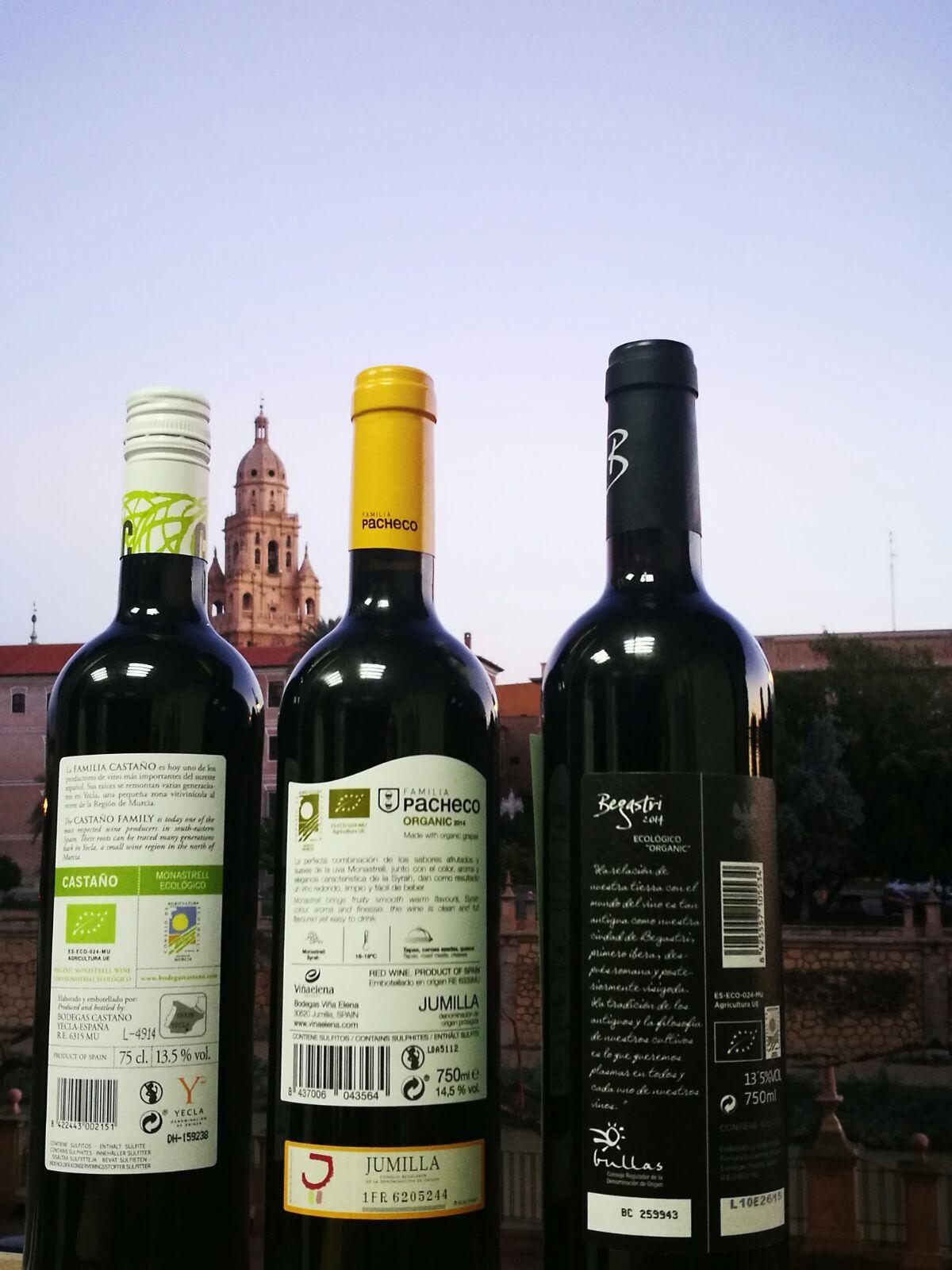 vinos ecológicos de la región de murcia