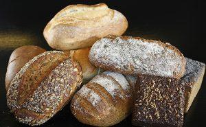 diferentes tipos de pan, ecológico, de centeno, de espelta, de cereales