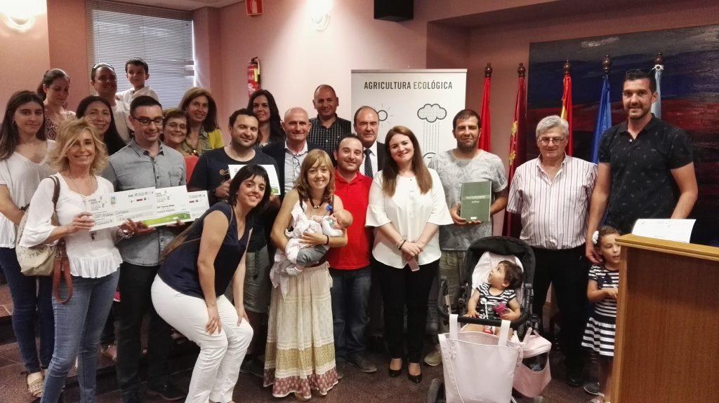 entrega de premios de huertos ecológicos escolares de la región de murcia