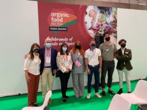 susana and´re omella, davida samper, ecovalia, organic food iberia 2021